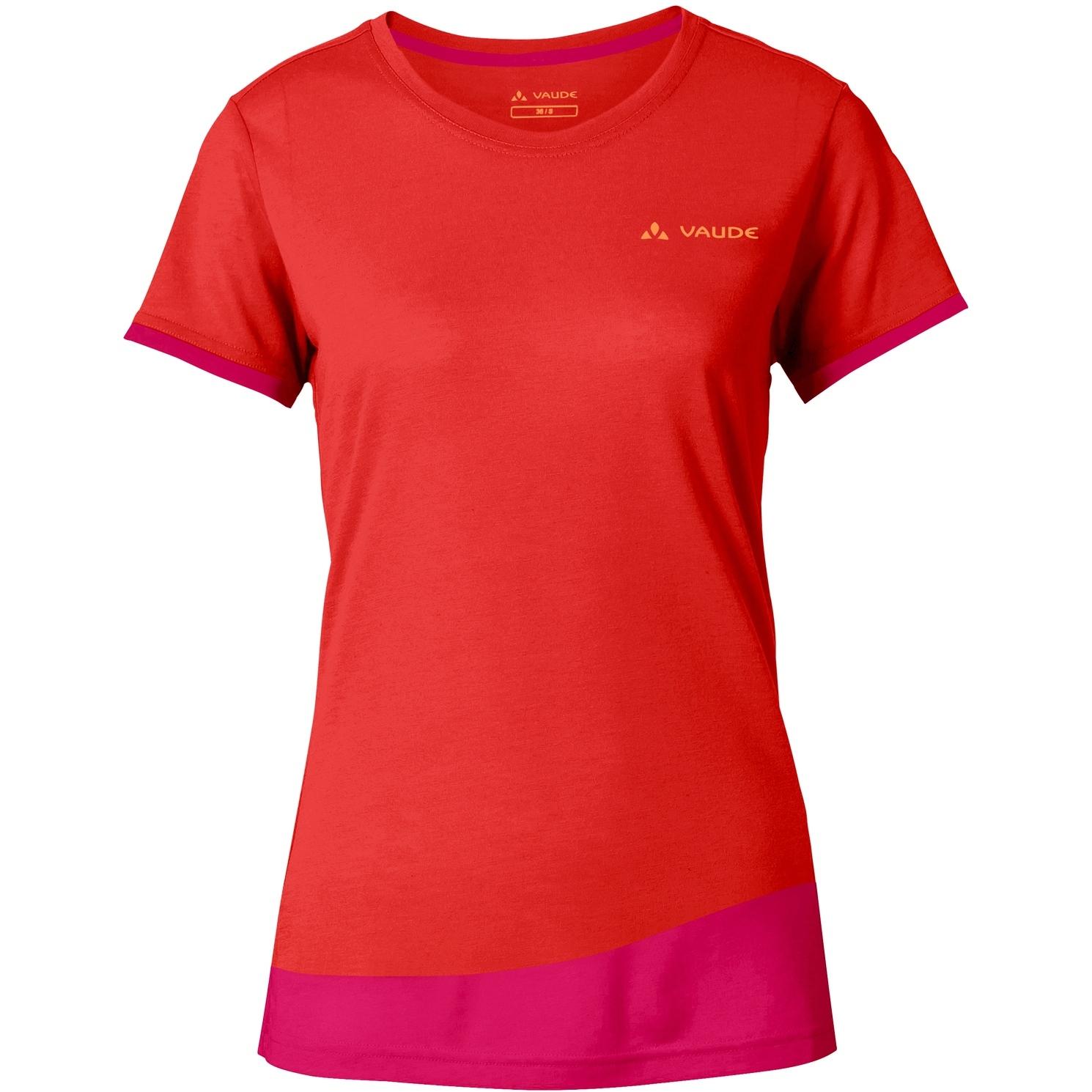 Bild von Vaude Sveit Damen Shirt - mars red
