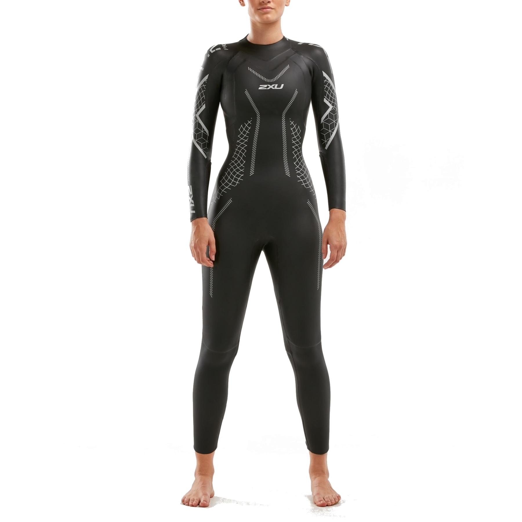 2XU Women's P:2 Propel Wetsuit - black/textural geo