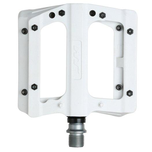 Produktbild von HT PA12A NANO P Flat Pedal Aluminium - weiß