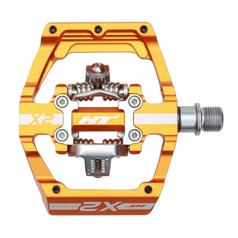 Produktbild von HT X2 Klickpedal Aluminium - orange