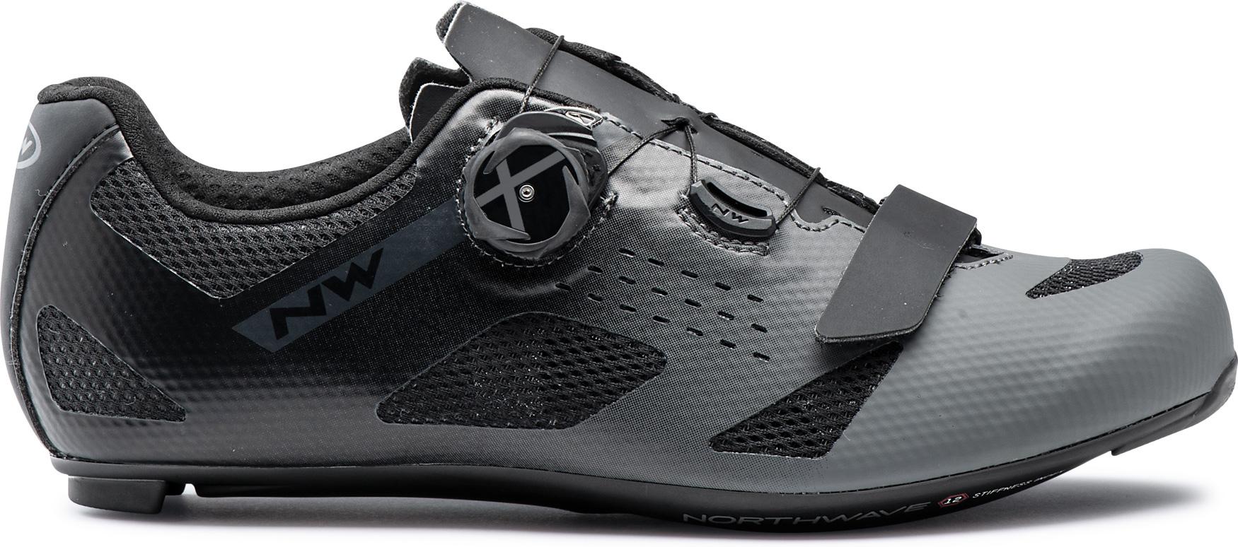 Northwave Storm Carbon Zapatillas de carreras - anthra/negro 84