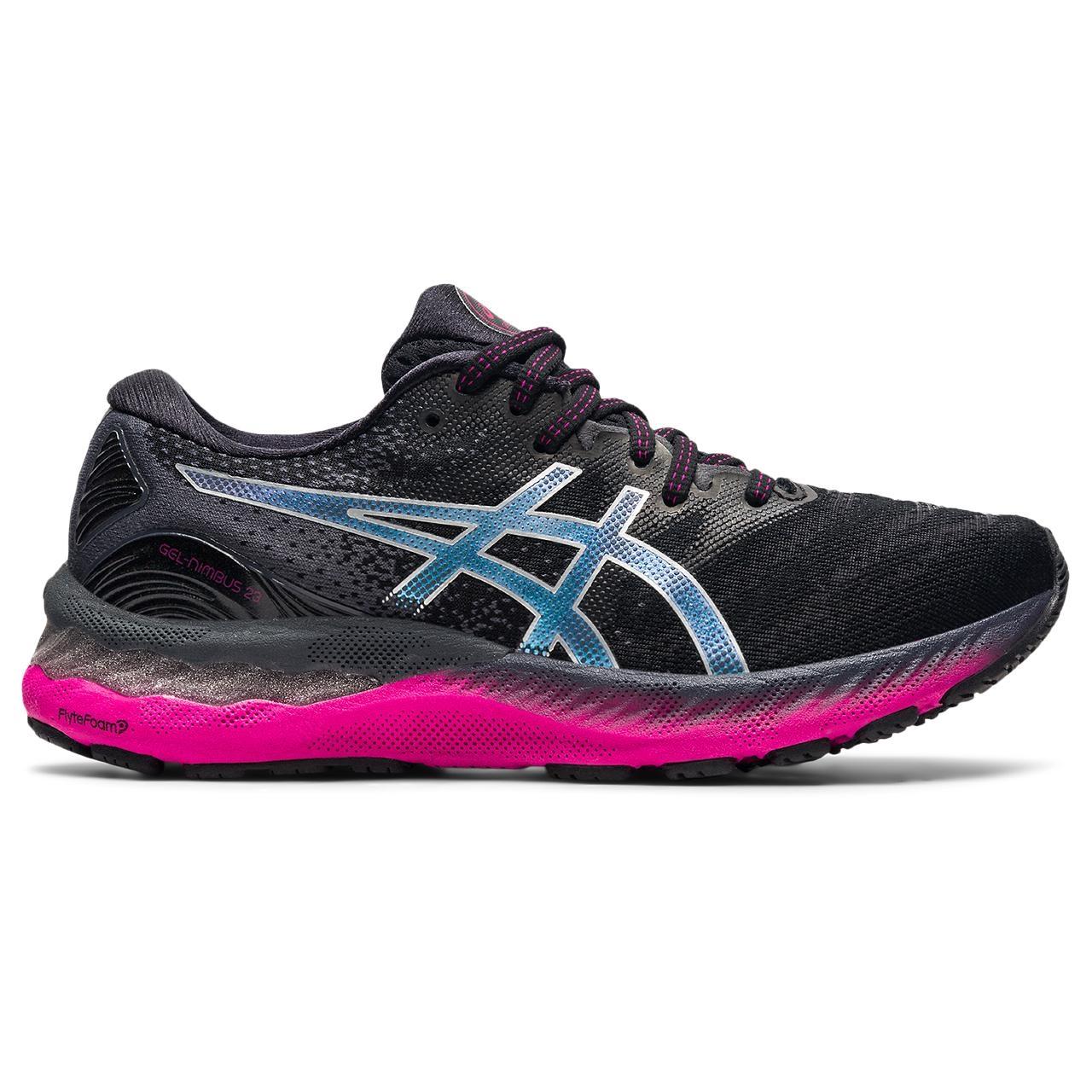 asics GEL-Nimbus 23 Zapatillas Running Mujer - black/pure silver