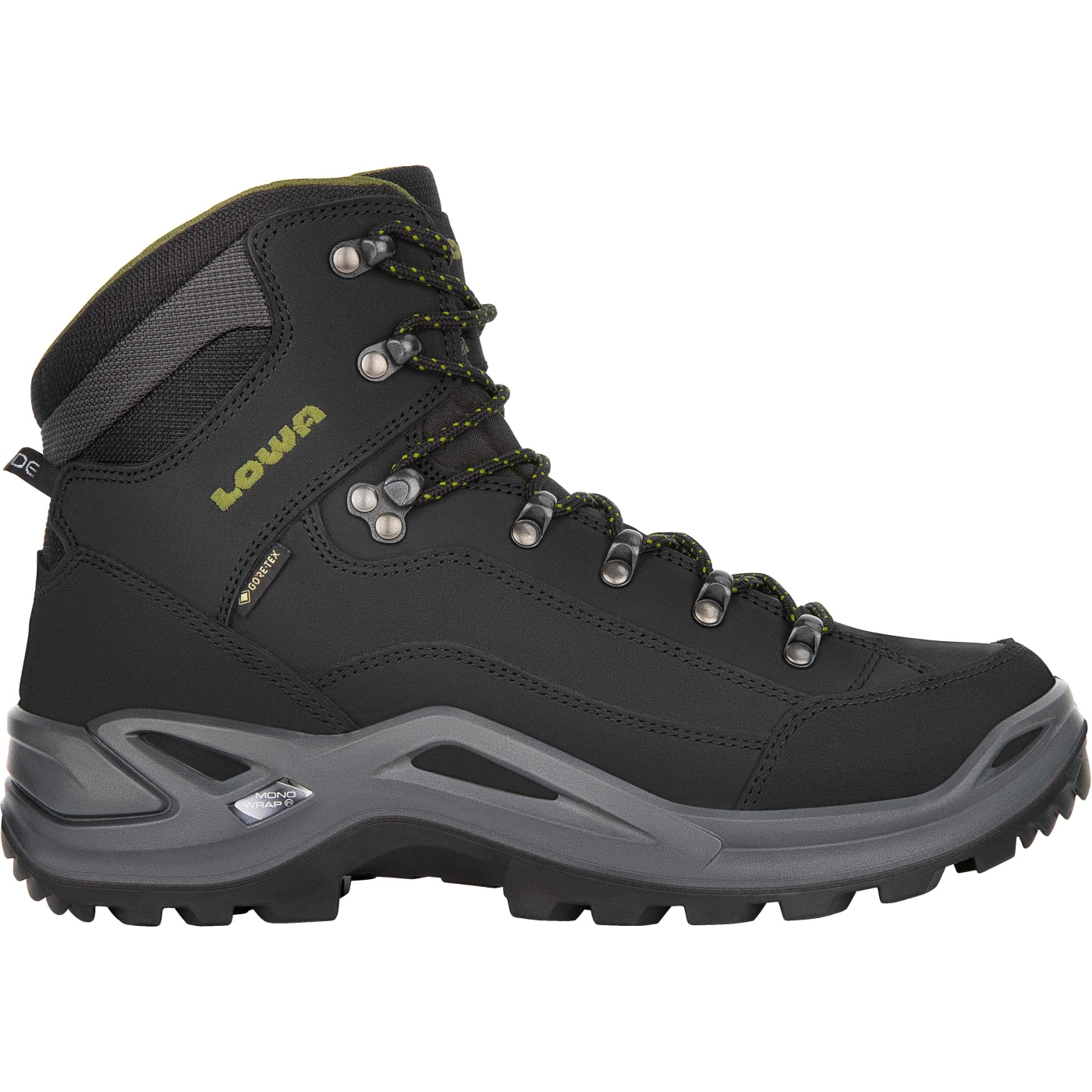 LOWA Renegade GTX Mid Shoe - black/oliv