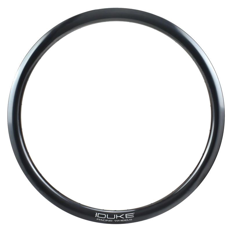 """Image of DUKE World Runner Carbon 38 R - 28"""" Carbon Rim - 24 holes"""