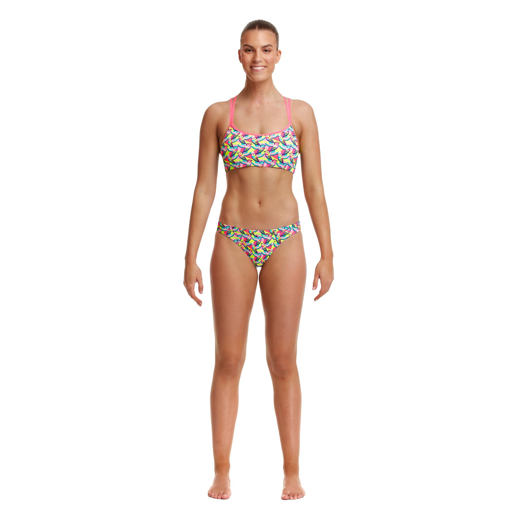 Image of Funkita Ladies Hipster Bikini Briefs - Bye Birdie
