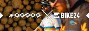 ASSOS x BIKE24 - Maillot de primera calidad, gorras de ciclismo y un culotte corto súper cómodo, con el diseño de tu tienda online favorita