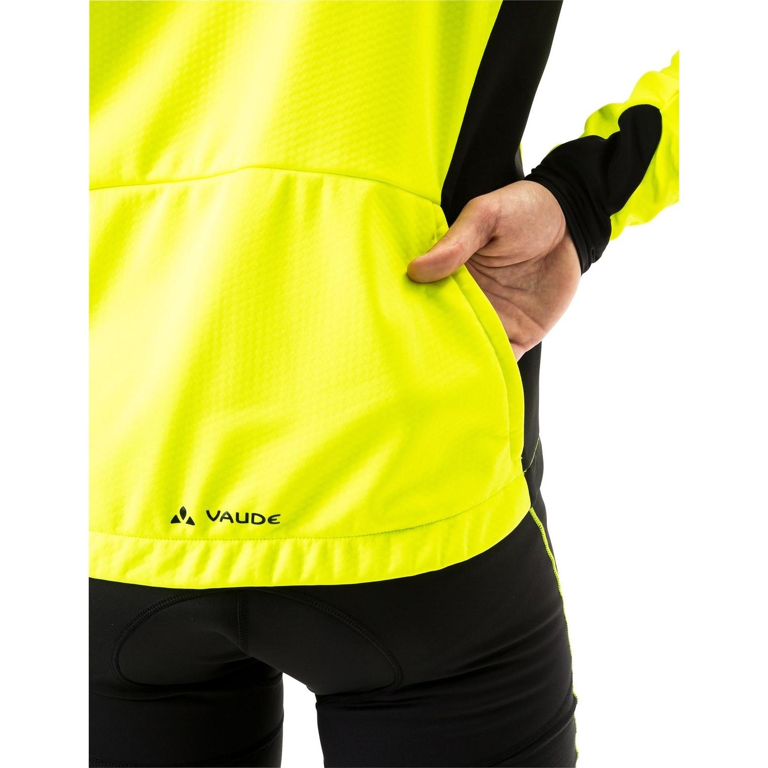 Bild von Vaude Kuro Softshell Jacke - neon gelb