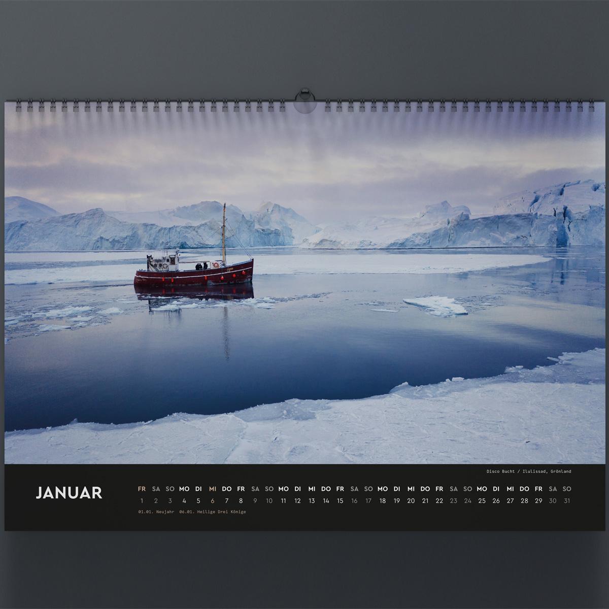 Bild von Tobias Woggon - The Spirit of Traveling 2021 Wandkalender
