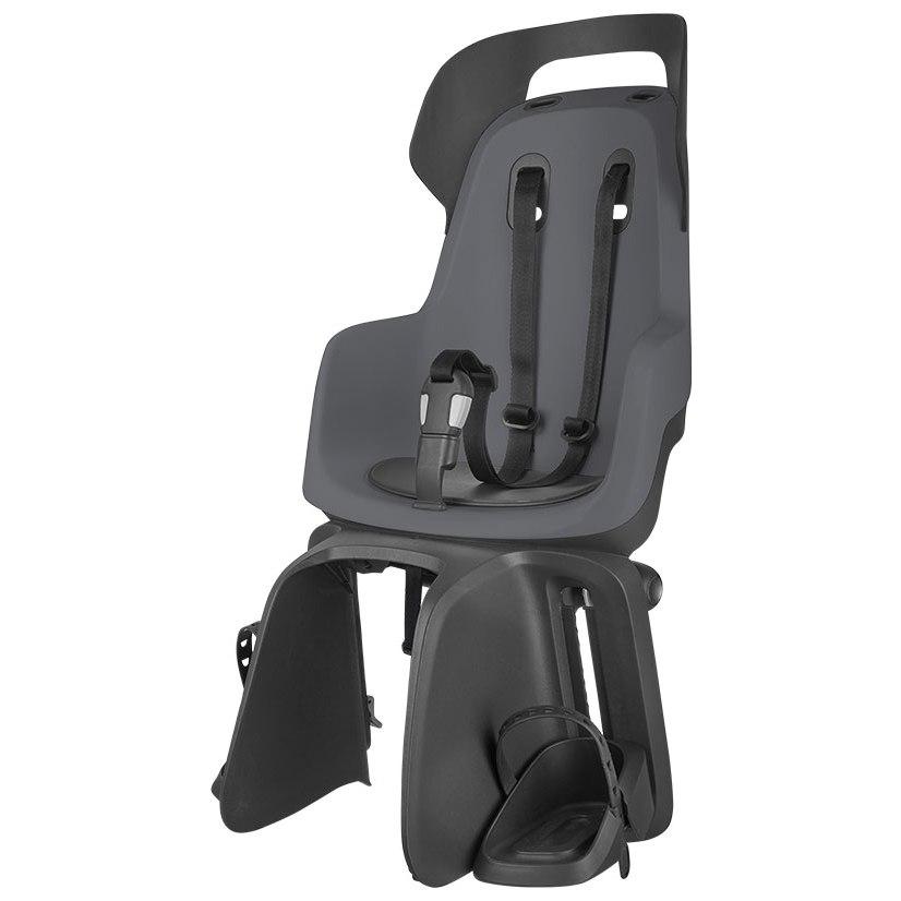 Bobike GO maxi Child Bike Seat - Carrier Mount - Macaron Grey