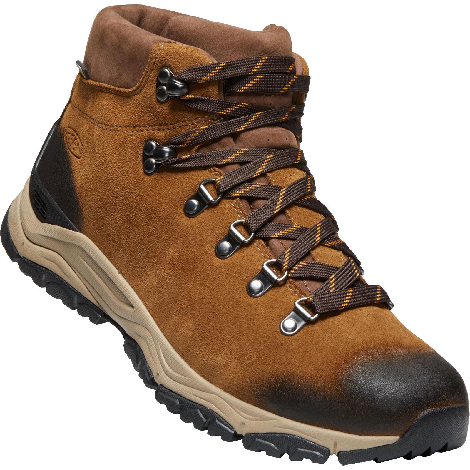 KEEN Feldberg APX Waterproof Men's Hiking Ankle Boot - Cognac