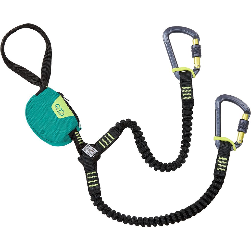 Foto de Climbing Technology Classic K-Slider Kit de Via Ferrata - green/lime