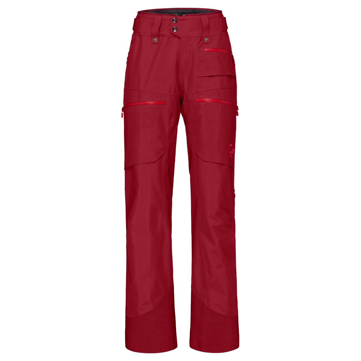Norrona lofoten Gore-Tex insulated Pants Women - Rhubarb