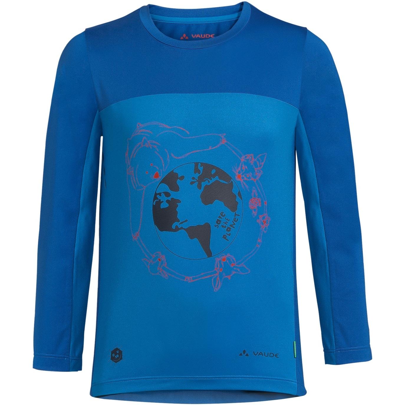 Vaude Kids Solaro LS T-Shirt II - radiate blue