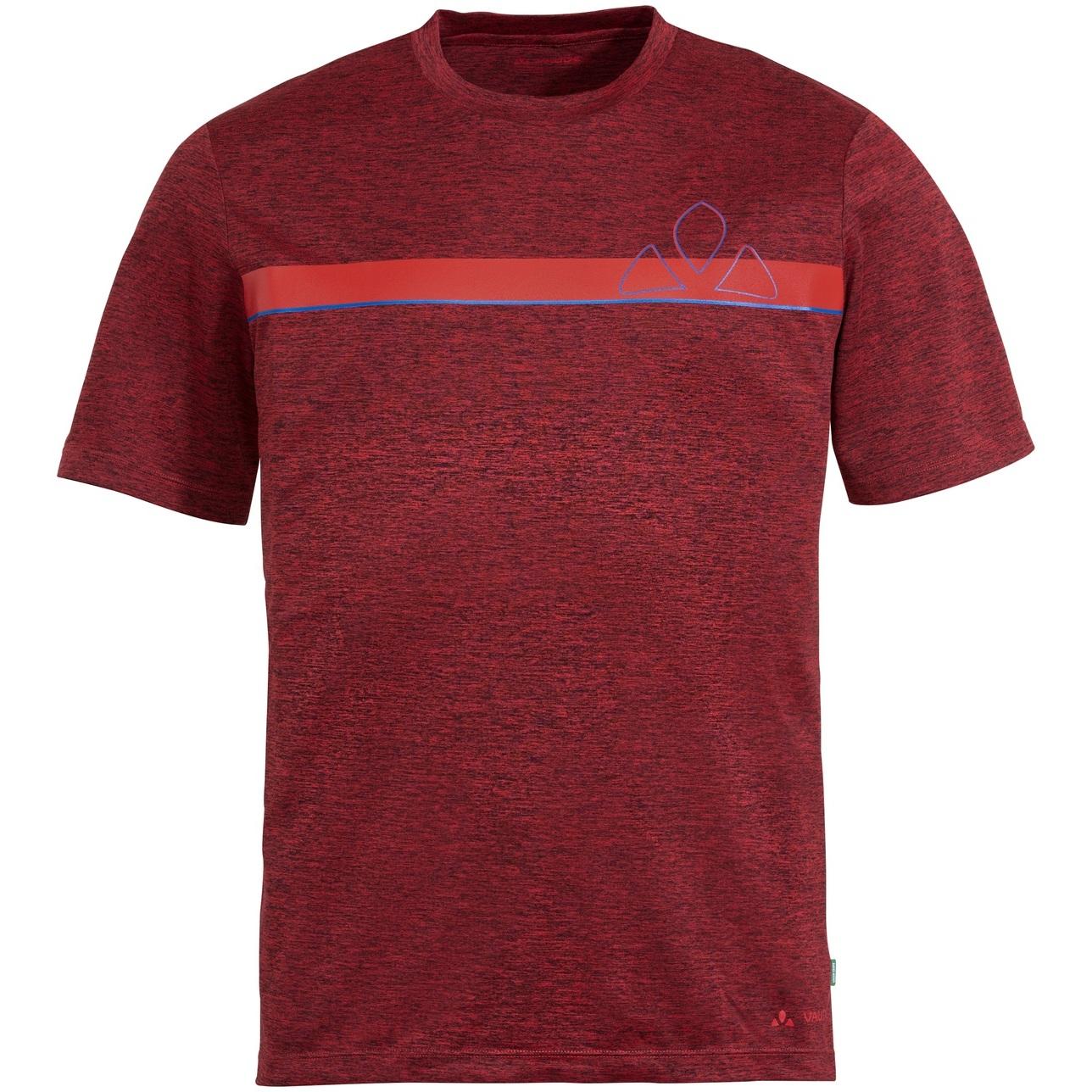 Vaude Bracket T-Shirt - carmine