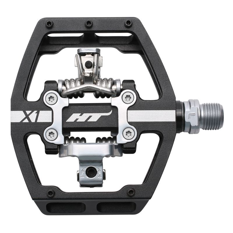 Produktbild von HT X1 Klickpedal Aluminium - schwarz