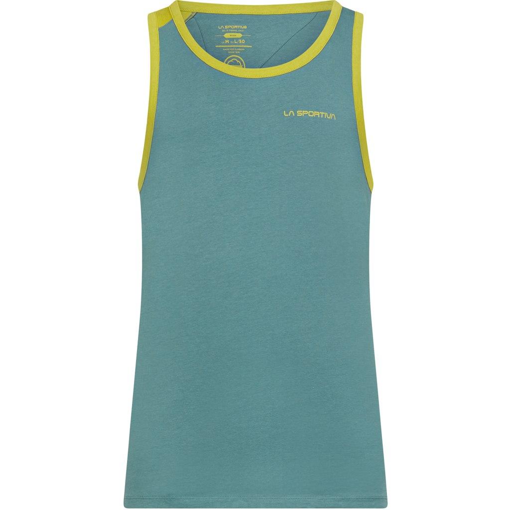 La Sportiva Shimmy Tank Top - Pine/Kiwi