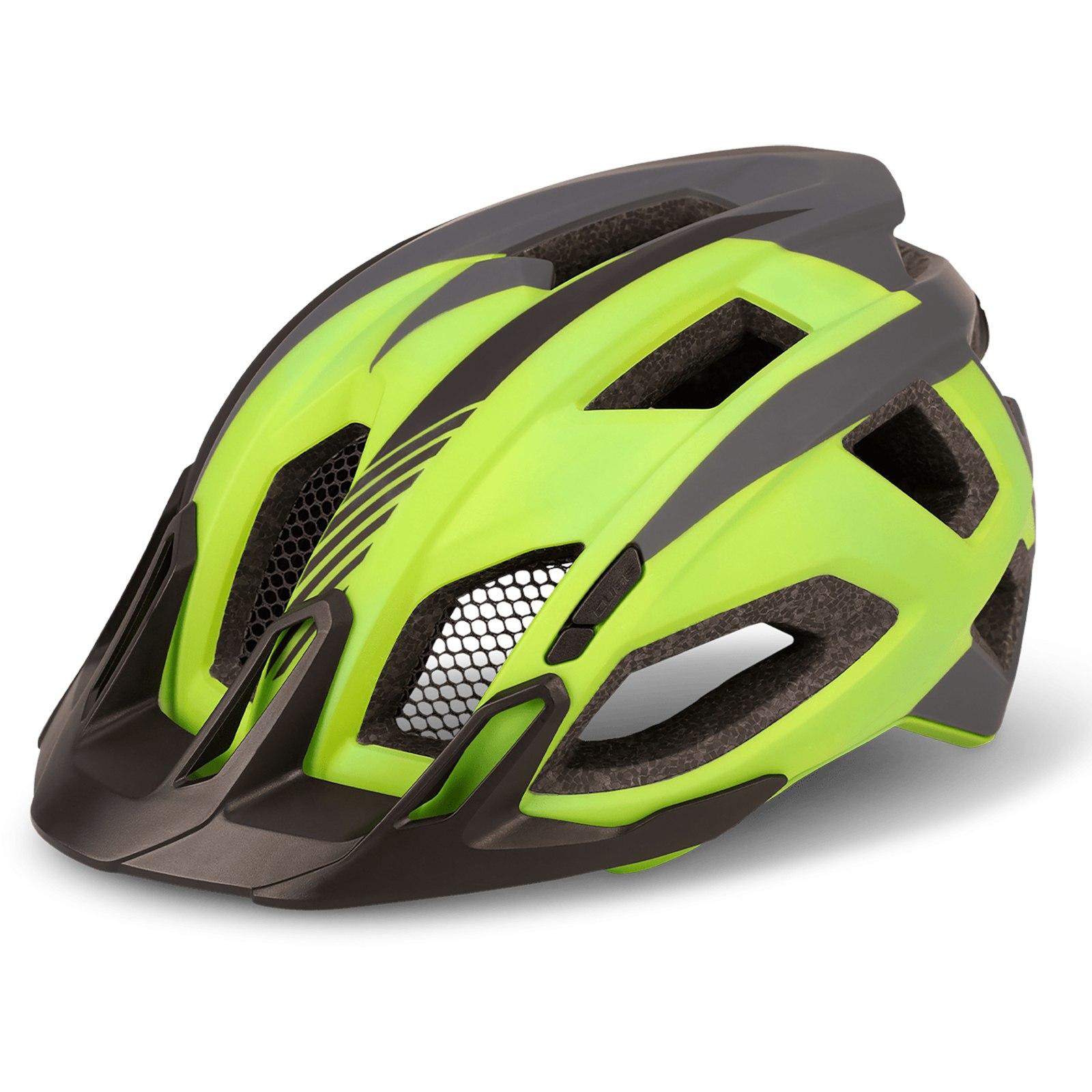 CUBE Helmet QUEST - green´n´grey´n´black