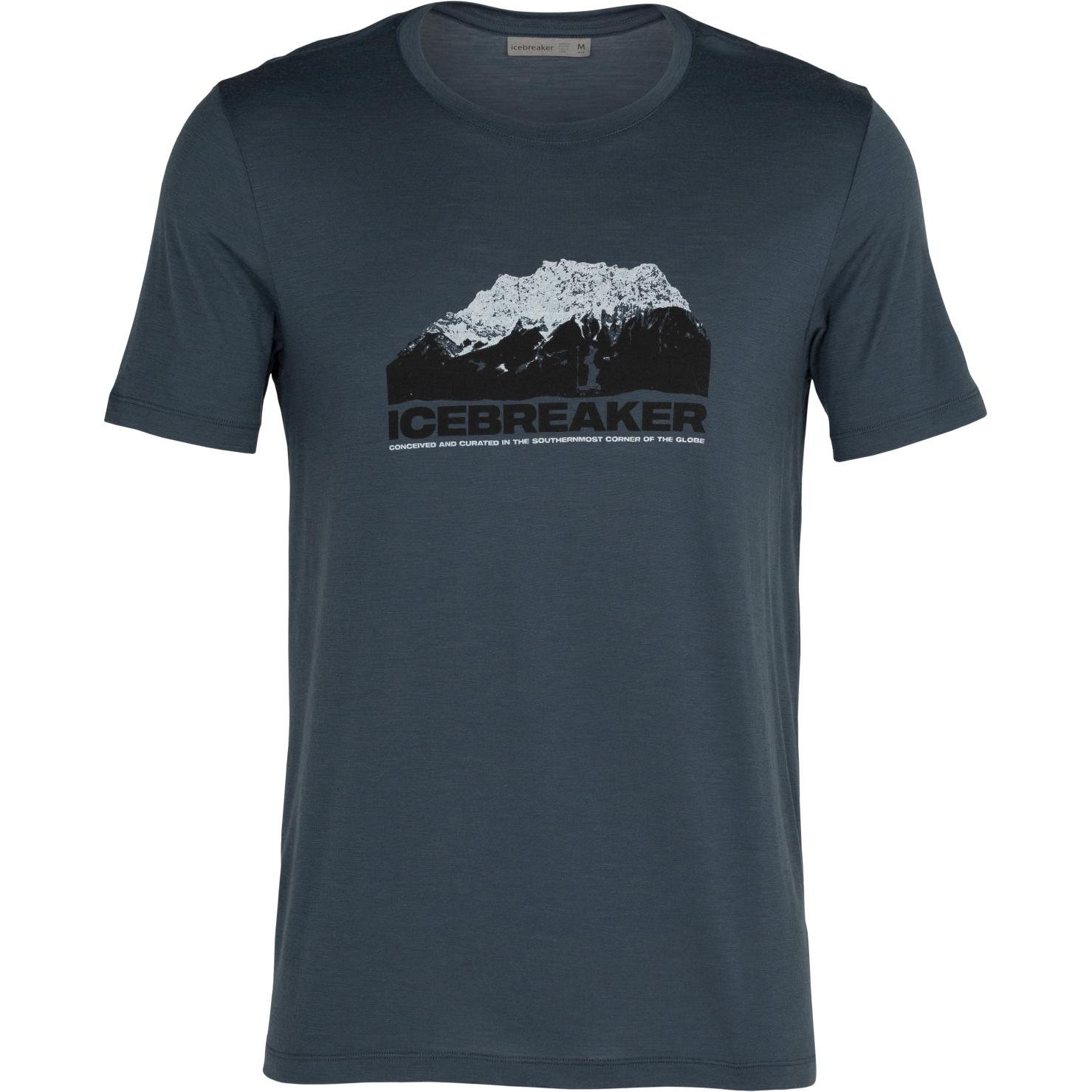 Produktbild von Icebreaker Tech Lite Crewe Icebreaker Mountain Herren T-Shirt - Serene Blue