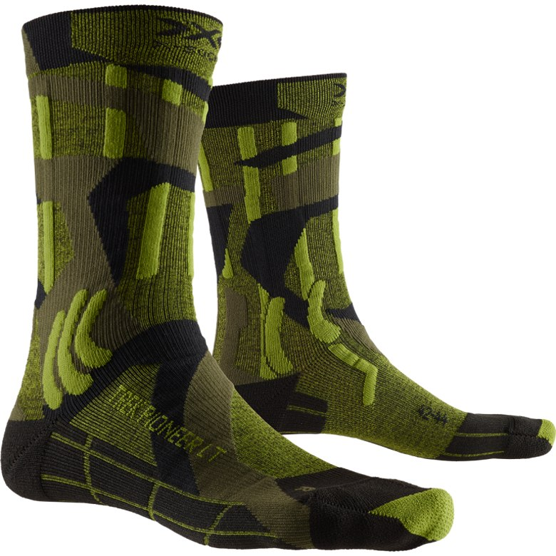 X-Socks Trek Pioneer LT Socken - forest green/modern camo