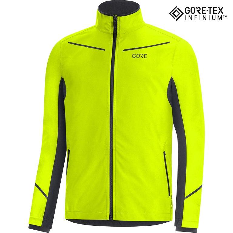 Foto de GORE Wear R3 GORE-TEX INFINIUM™ Partial Chaqueta - neon yellow/black 0899
