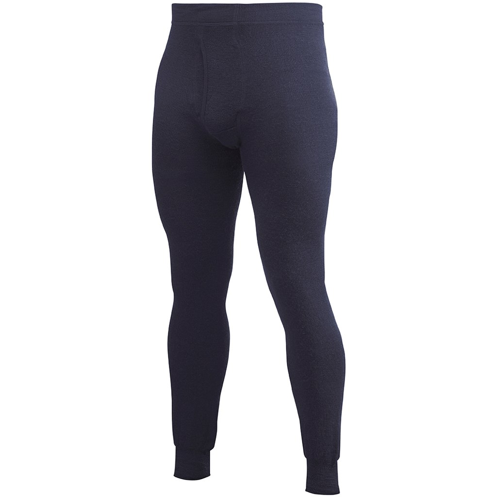 Woolpower Long Johns 200 Underpants with Fly - navy