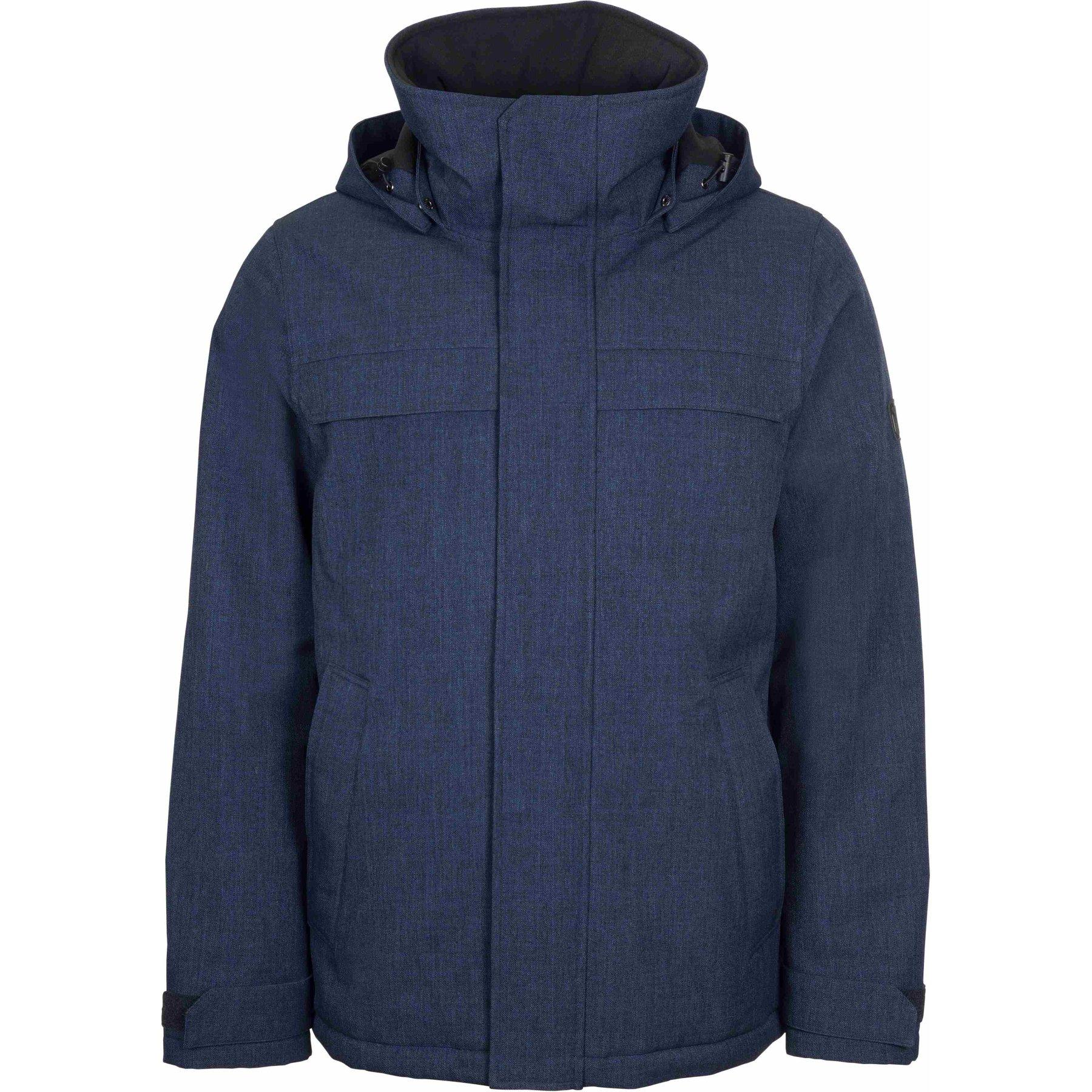 Elkline UNDERCOVER Waterproof Outdoor Jacket - bluemelange