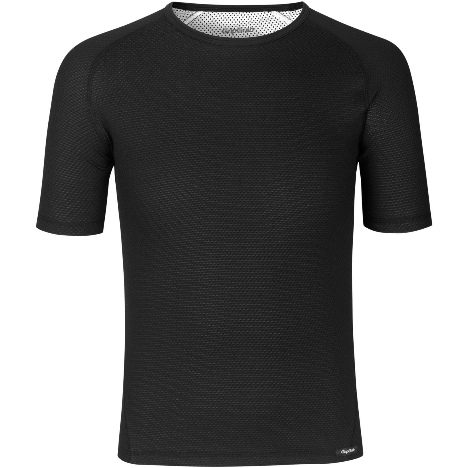 GripGrab Ride Thermal Short Sleeve Base Layer - black