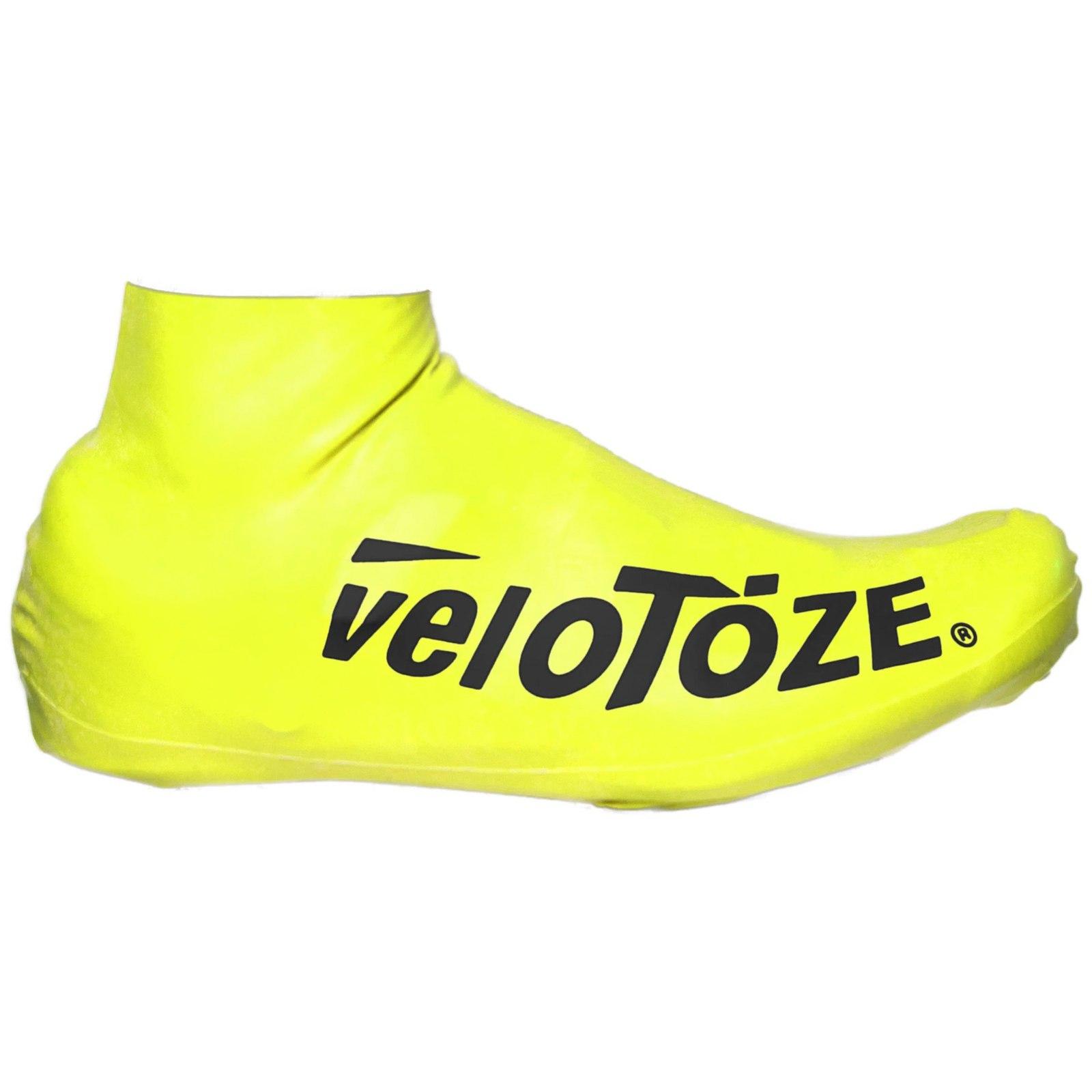 veloToze Short Shoe Cover Road 2.0 - Überschuh Kurz - Viz-yellow