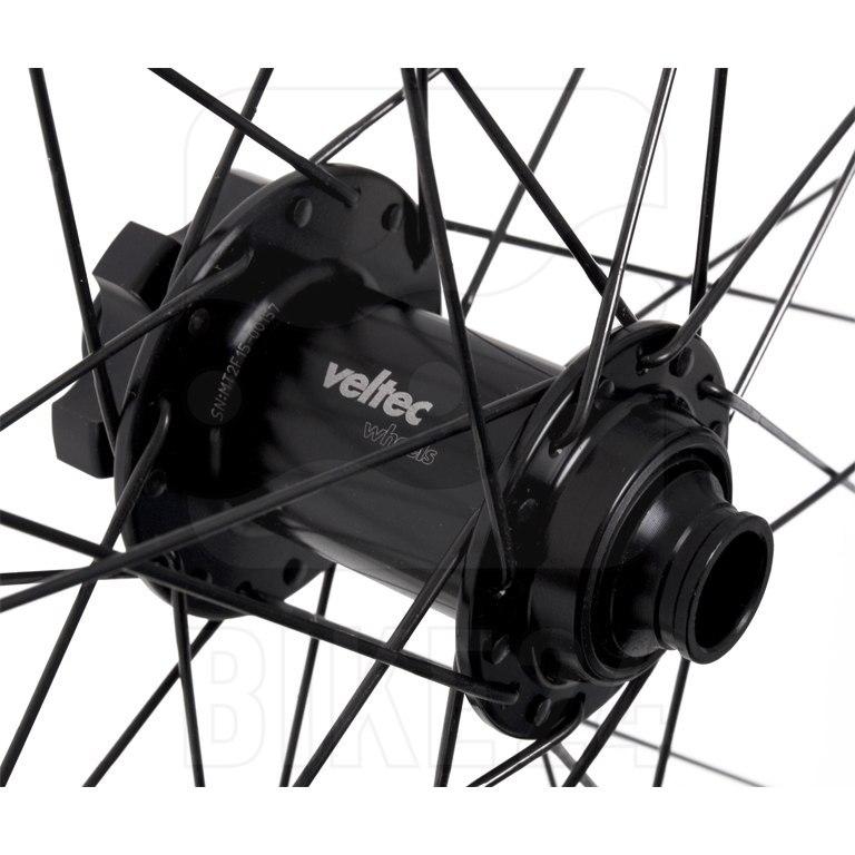 Bild von Veltec ETR-RACE 27.5 Zoll Vorderrad - 6-Loch - QR100 - schwarz