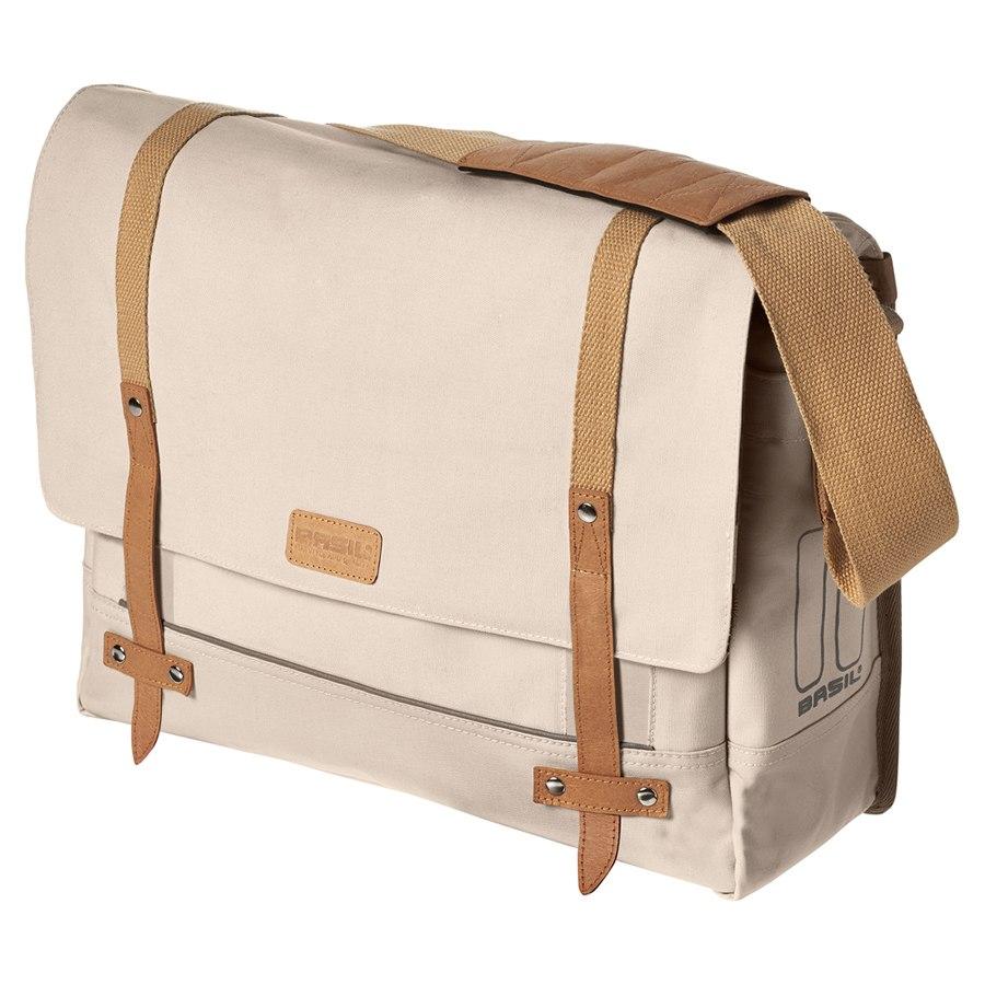 Basil Portland Messenger Bag - creme