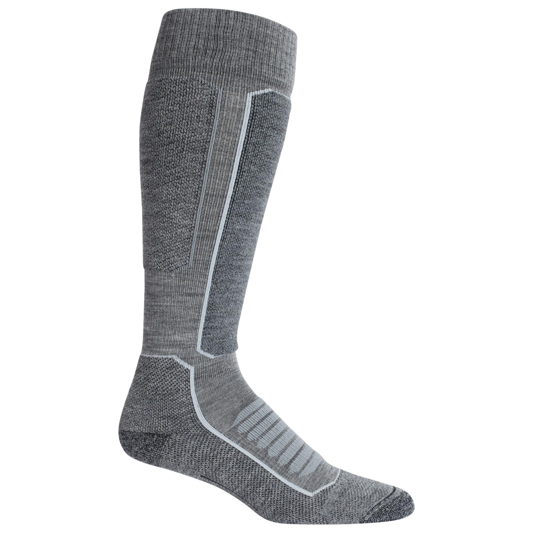 Produktbild von Icebreaker Ski+ Medium OTC Herren Socken - Gritstone HTHR/Black