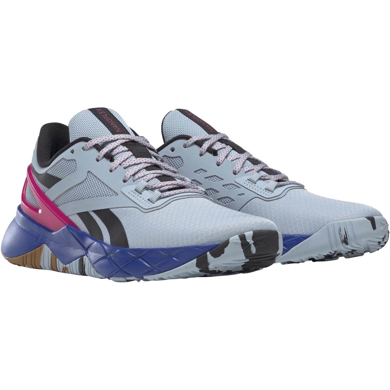 Reebok Nanoflex TR Damen Trainingsschuh - gable grey/core black/pursuit pink