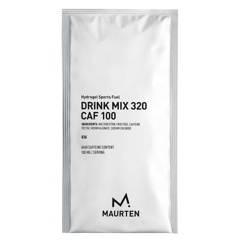 Produktbild von MAURTEN Drink Mix 320 CAF 100 Hydrogel-Getränkepulver + Koffein - 83g