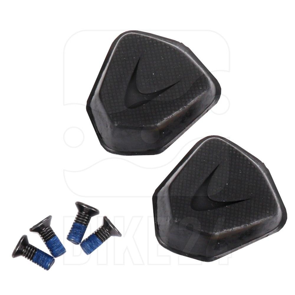 Lake Replacement Heel Pad Kit for CX241, CX238, CX237* CX218 CX1C TX322 TX223 - black