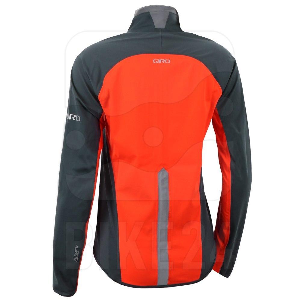 Image of Giro Chrono Pro Neoshell Women's Jacket - vermillion