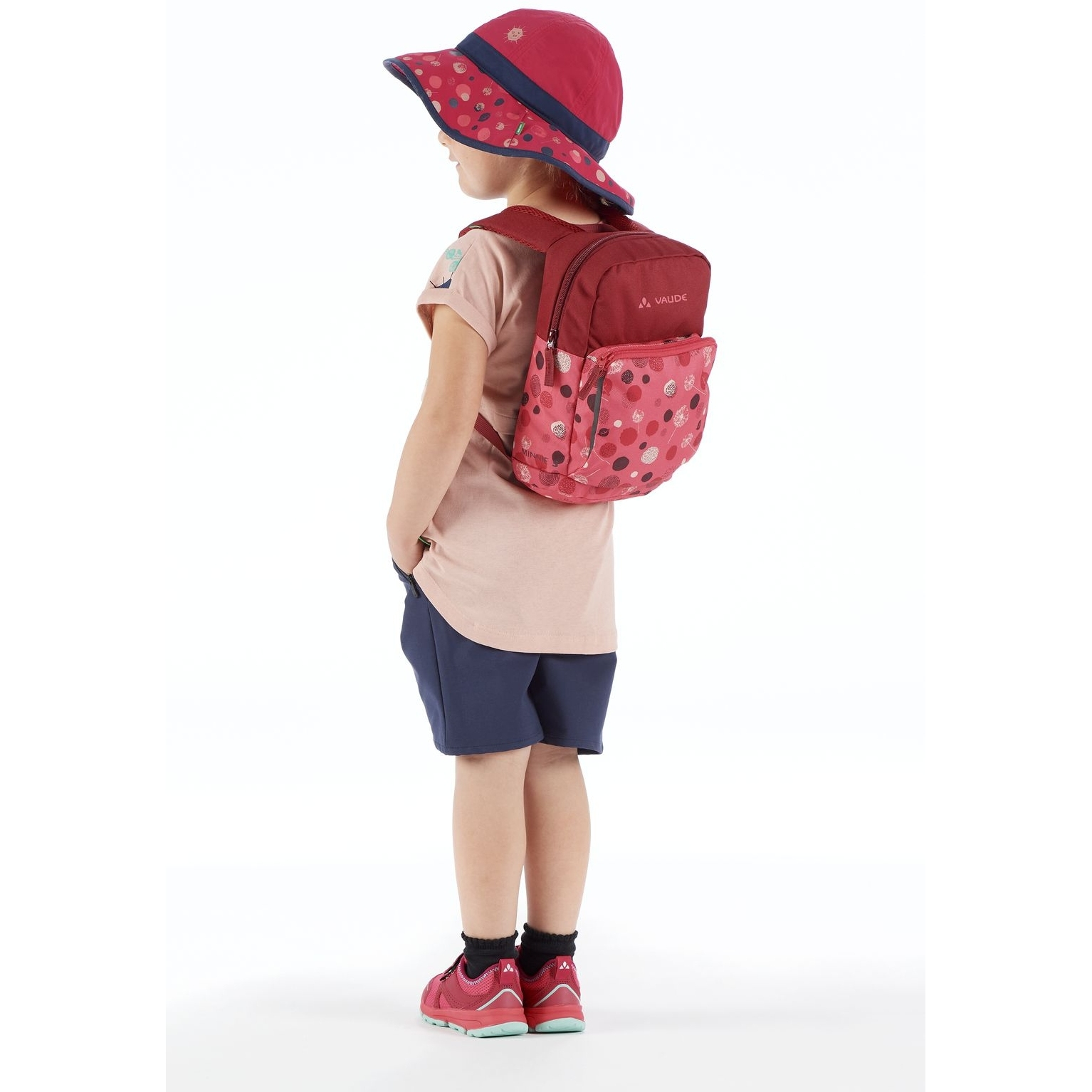 Bild von Vaude Minnie 5 Kinderrucksack - bright pink/cranberry