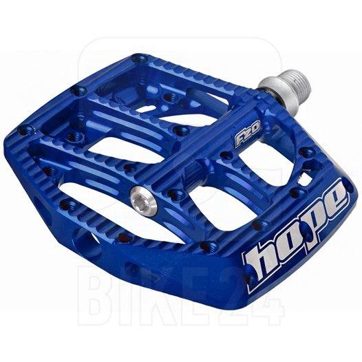 Hope F20 Flat Pedal - blue