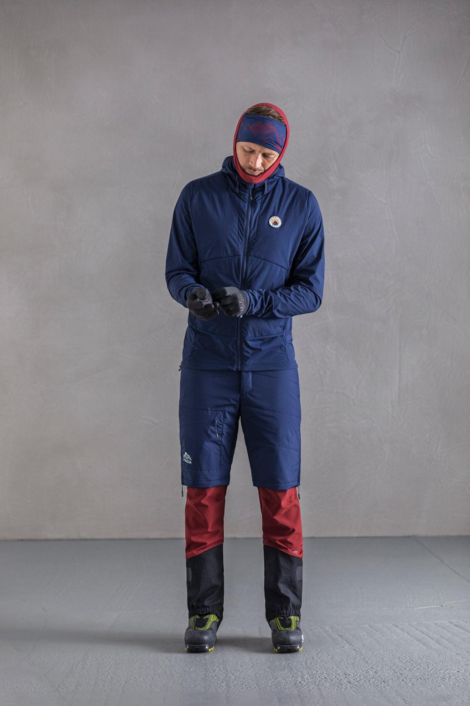 Image of Maloja AndreiaM. Ski Mountaineering Primaloft Shorts - moonless 817