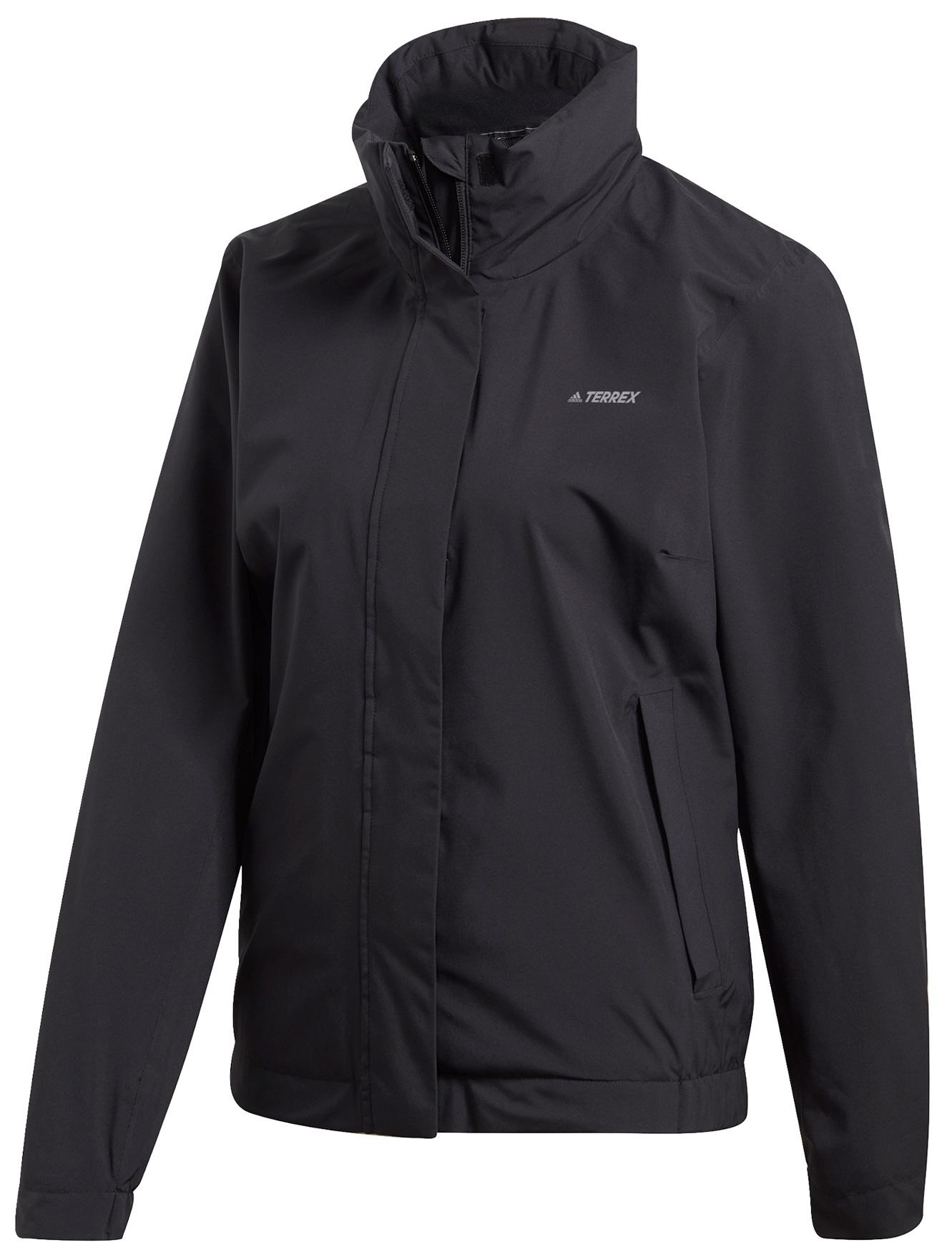 adidas Women's TERREX AX Rain Jacket - black FR5774