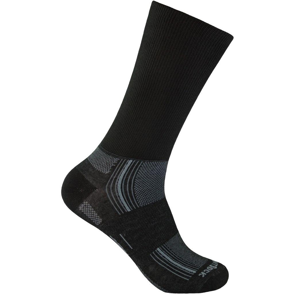 WRIGHTSOCK Stride Crew Double Layer Socks - black - 826-03