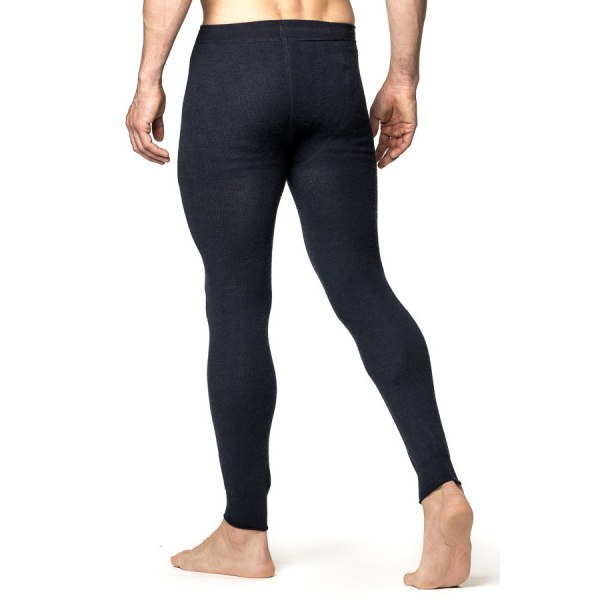 Image of Woolpower Long Johns 200 Unisex Underpants - navy