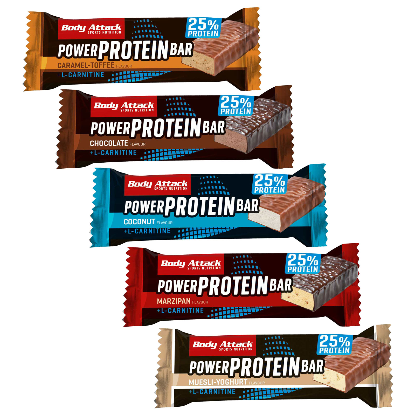 Image of Body Attack Power Protein-Bar - 35g