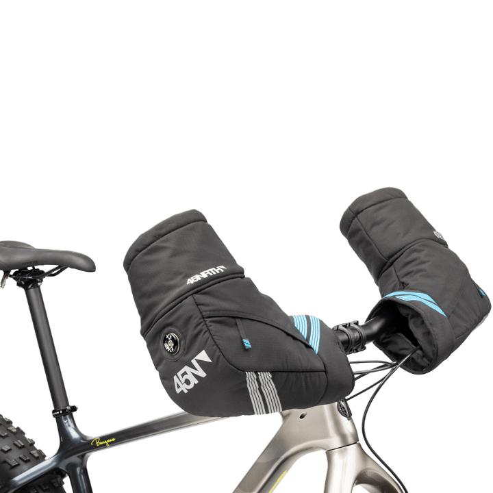 Imagen de 45NRTH Cobrafist Winter Cycling Pogies Calentadores de muñeca para el manillar