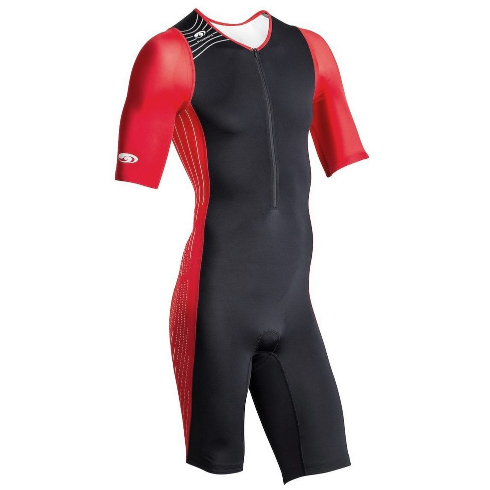 blueseventy TX2000 Short Sleeve Tri Suit - red/black