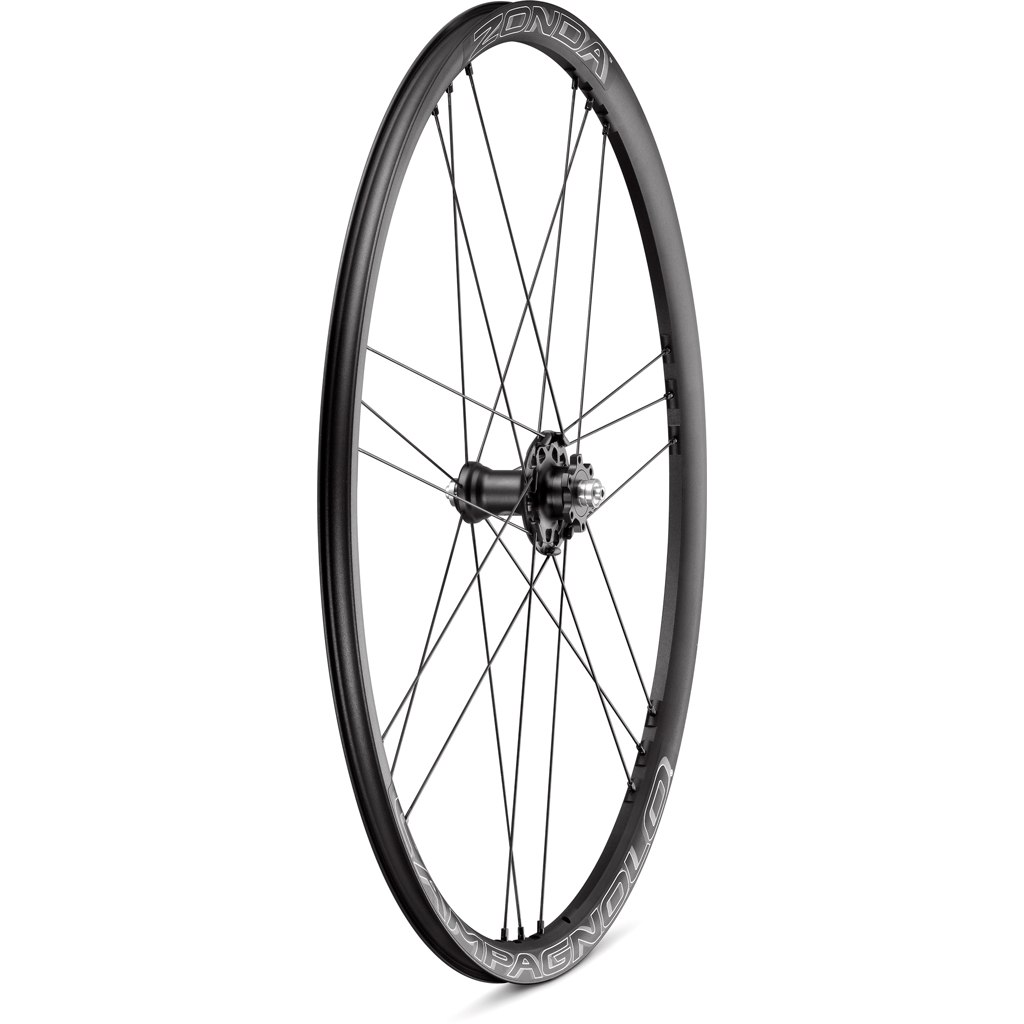 Image of Campagnolo Zonda DB - 28 Inches Wheelset - Clincher - AFS - FW: 12x100mm   RW: 12x142mm