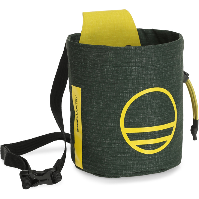 Wild Country Session Chalk Bag - Scarab/Citronelle