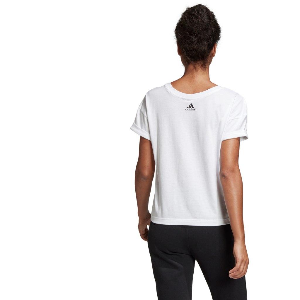 Image of adidas Women's AOP Pack Tee - white DV3021