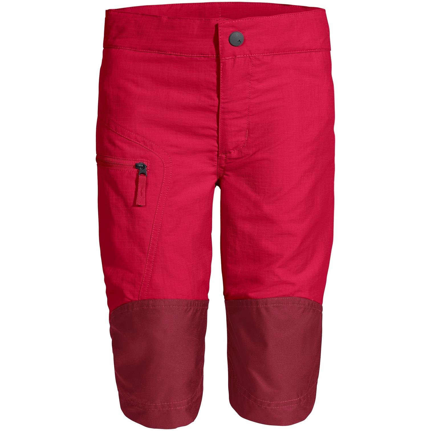 Vaude Kids Caprea Antimos Shorts - crocus
