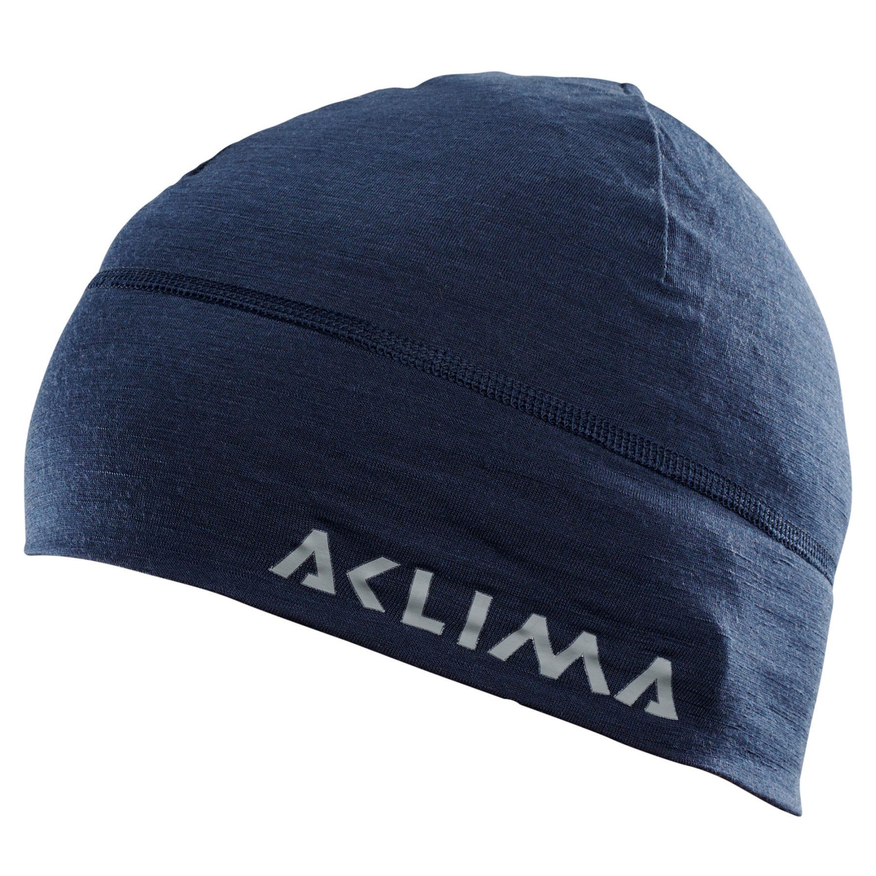 Aclima Lightwool Beanie - navy blazer