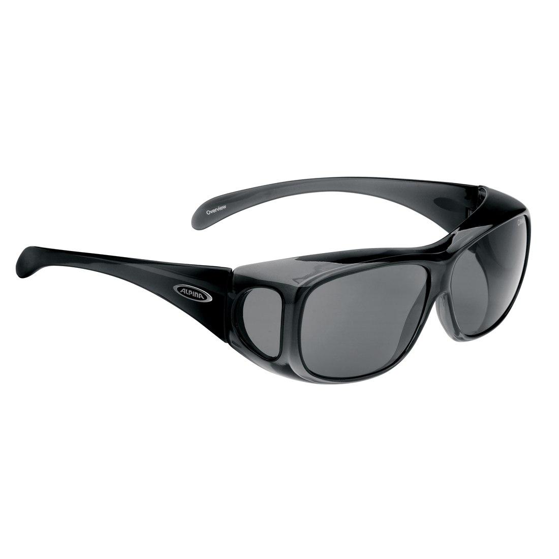 Alpina Overview - Black Transparent / Ceramic Black - Glasses